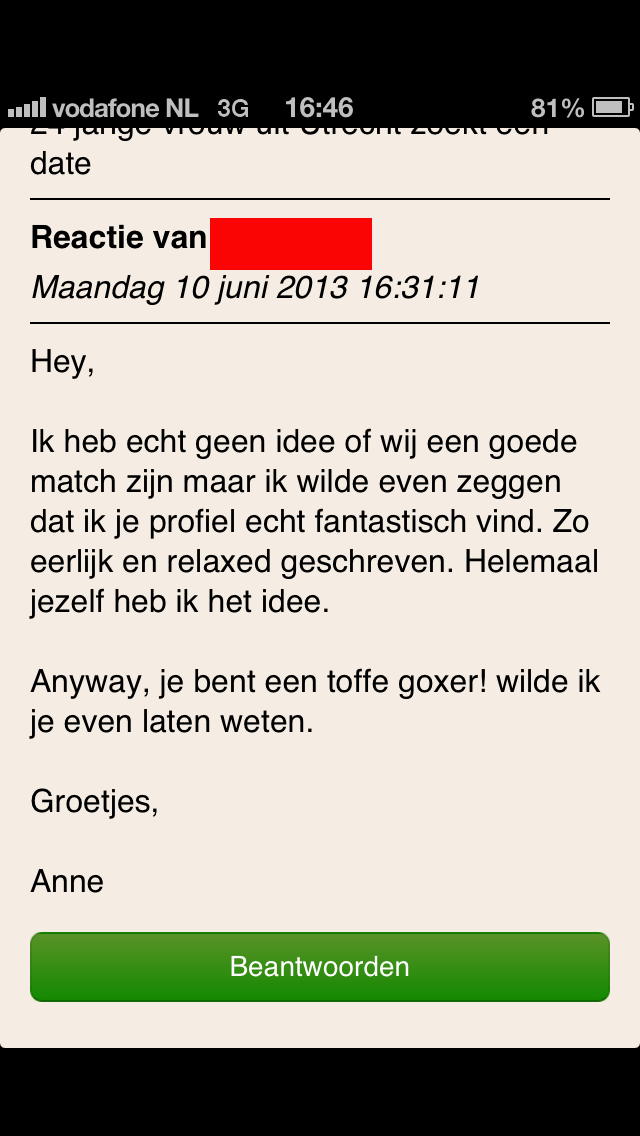 datingsite Leiden