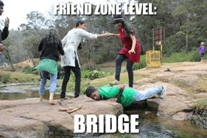 Brug door friendzone