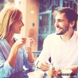 Flirten met vriendin