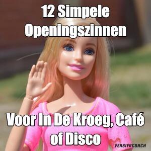12 simpele openingszinnen voor in de kroeg caf disco - Hoe om te versieren haar eetkamer ...